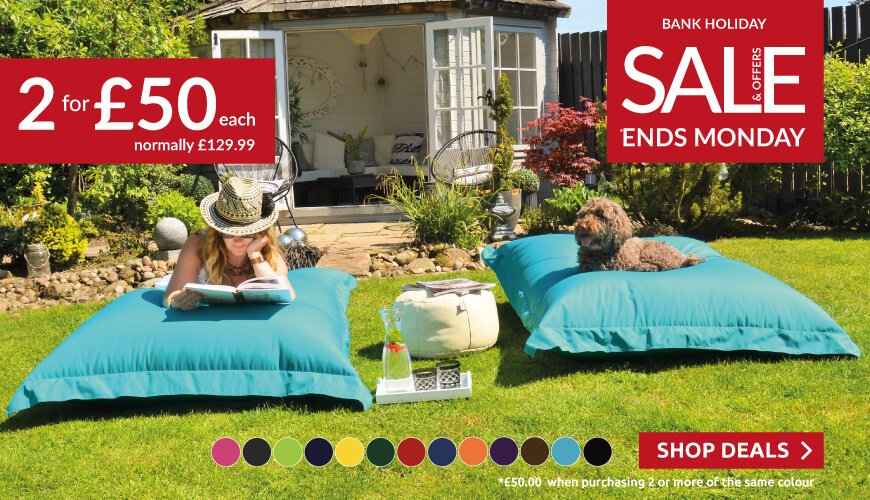 Buy two Squarbie Beanbags for only £50 each