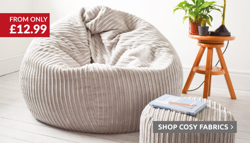 Cosy fabrics for your Autumn Comforts