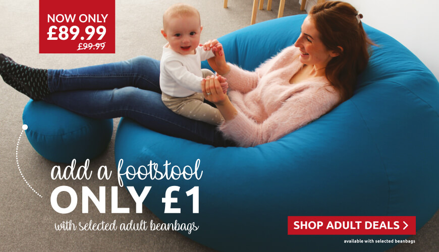 Fantastic deals on our adult beanbags