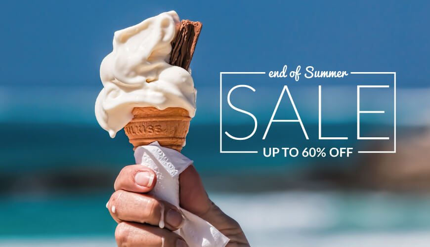 End of Summer Sale...NOW ON!