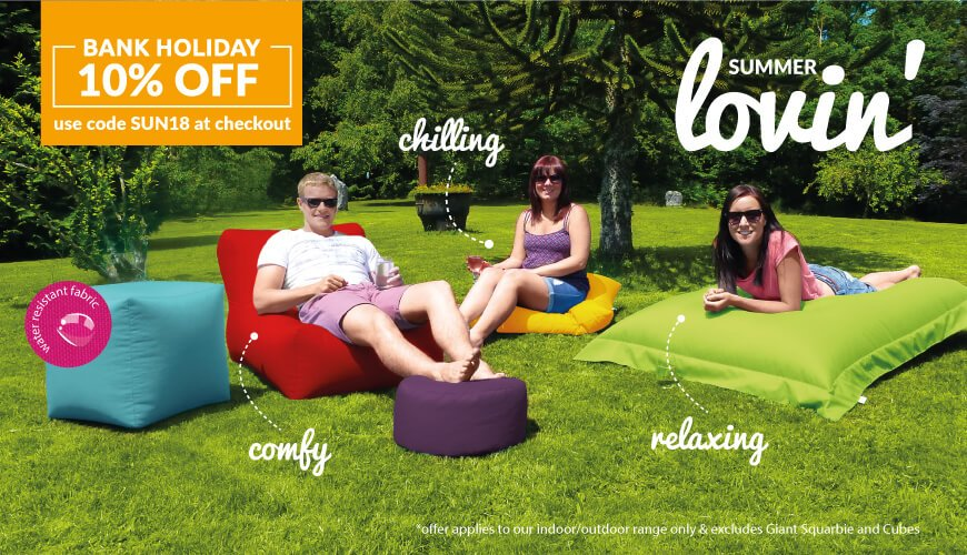 get 10% off this bank holiday weekend