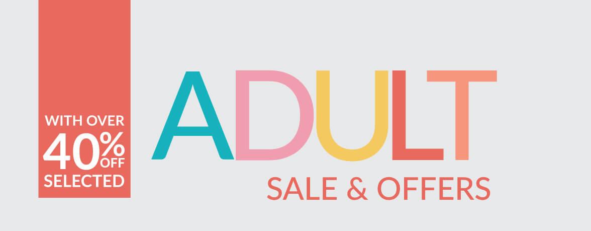 Adult Sale