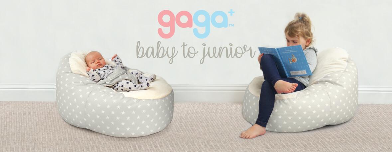 Gaga+ Baby to Junior Beanbag