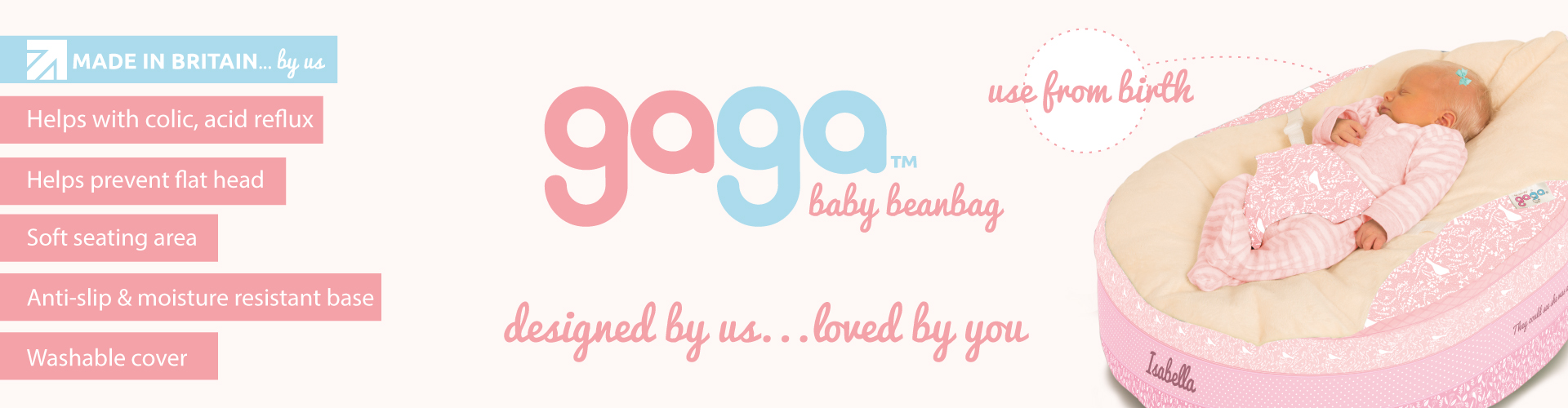 Gaga Baby Beanbag