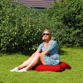 Outdoor Square Floor Cushion Bean Bag Rucomfy Beanbags