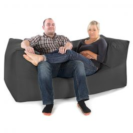 Fixed Modular Trend Two Seater Sofa Bean Bag Rucomfy