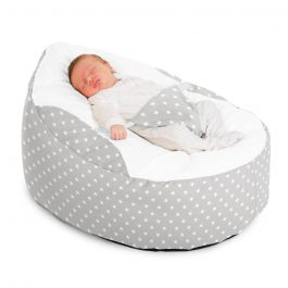 ruComfy Gaga/™ Baa Baa Baby Luxury Comfort Beanbag Washable Pre-Filled Baby Pink 0-6 Months