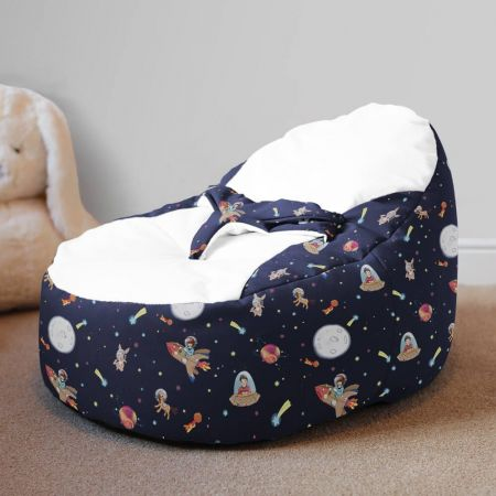 Belle and Boo Space Adventure Gaga + Baby Beanbag