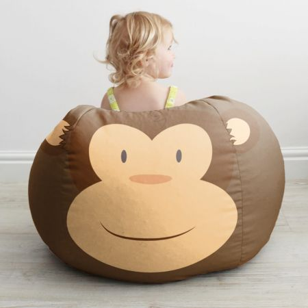 Kids Monkey Bean Bag Small