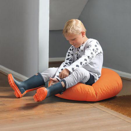 Smarty Kids Floor Cushion Indoor/Outdoor Orange