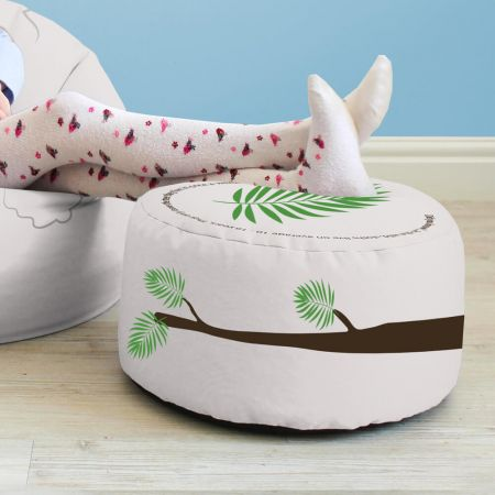 Sloth Kids Beanbag Stool