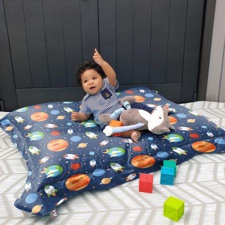 Outer Space Junior Squarbie Kids Beanbag