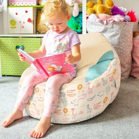 Zoo Animals Gaga Plus Baby to Junior Bean Bag Toddler Seat