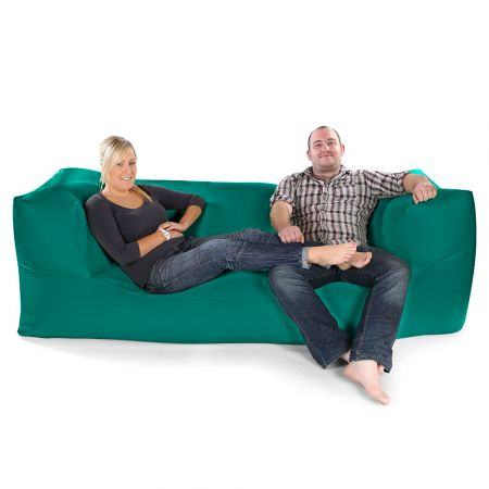 Comfy Fixed Modular Three Seater Sofa Bean Bag