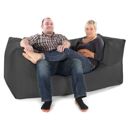 Comfy Fixed Modular Two Seater Sofa Bean Bag