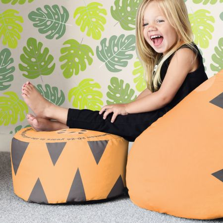 Tiger Animal Kids Beanbag Stool
