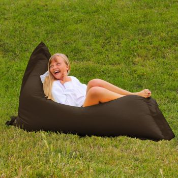 Extra Large Squarbie Adult Beanbag in Brown