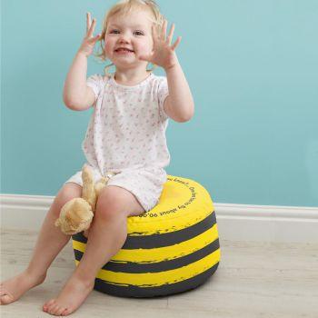 Bumblebee Kids Beanbag Stool