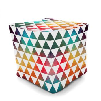 Fiesta 40cm Cube Beanbag