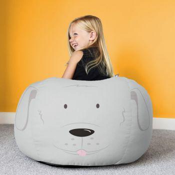 Kids Dog Animal Bean Bag - Small