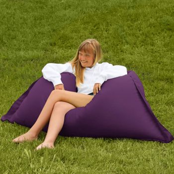 Extra Large Squarbie Adult Beanbag in Purple
