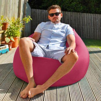 Flob A Dob Giant Outdoor Beanbag - Cerise Pink