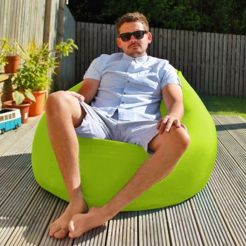 Flob A Dob Giant Outdoor Beanbag - Lime Green