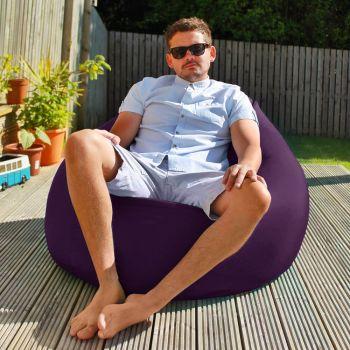Flob A Dob Giant Outdoor Beanbag - Purple