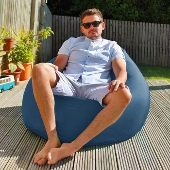 Flob A Dob Giant Outdoor Beanbag - Royal Blue