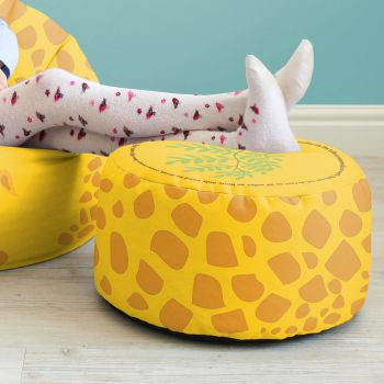 Giraffe Kids Bean Bag Stool