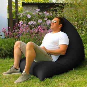 Humbug Beanbag - Large - Indoor/Outdoor - Black