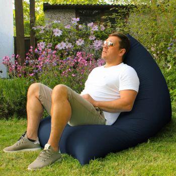 Humbug Beanbag - Large - Indoor/Outdoor - Navy Blue