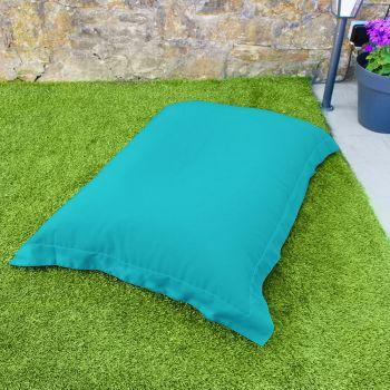 Turquoise Indoor/Outdoor Large Squashy Squarbie