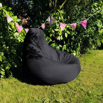 Extra Large Classic Beanbag - Indoor/Outdoor Slate Grey