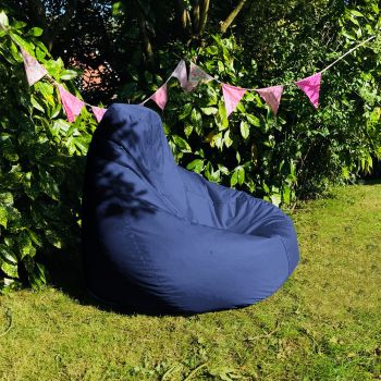 Extra Large Classic Beanbag - Indoor/Outdoor - Royal Blue