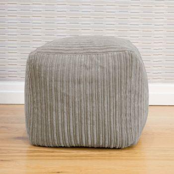 Platinum Jumbo Cord 40 x 40 cm Cube Beanbag