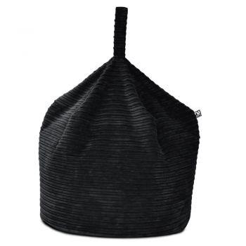 Medium Handle Beanbag - Jumbo Cord -Black
