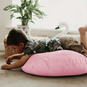 Baby Pink Kids Trend Smarty Floor Cushion Bean Bag
