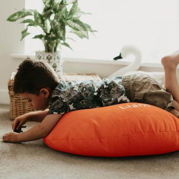 Orange Kids Trend Smarty Floor Cushion Bean Bag