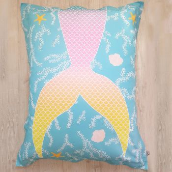 Mermaid Tail Squarbie™ Bean Bag - Large