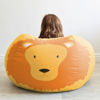 Kids Lion Animal Bean Bag