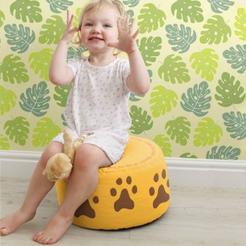 Lion Kids Bean Bag Stool