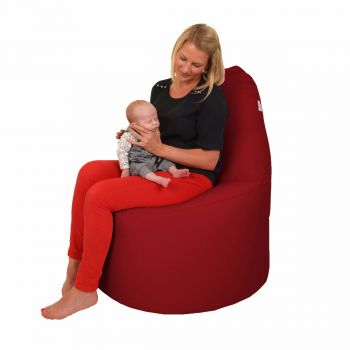 Nursing Bean Bag Chair - Trend Red