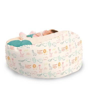 Zoo Animals Gaga™ Baby Beanbag - Multi Coloured