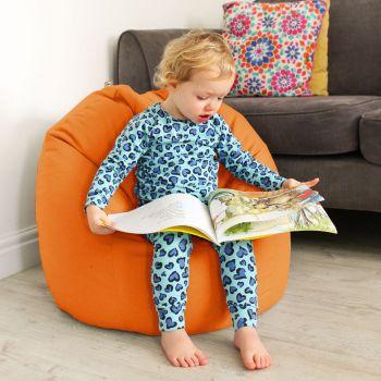 Comfy Kids Classic Orange Bean bag