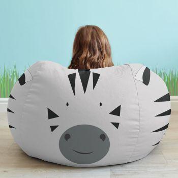 Zebra Animal Beanbag