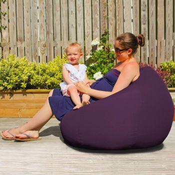 Slouchbag Indoor/Outdoor Beanbag in Purple