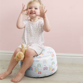 Rainbow Sky Kids Stool