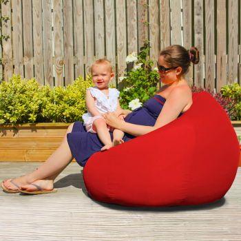 Slouchbag Indoor/Outdoor Beanbag in Red