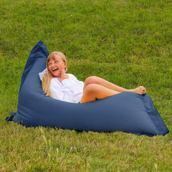 Extra Large Squarbie Adult Beanbag in Royal Blue